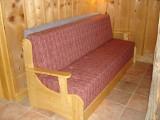 Canapé-lit dans living