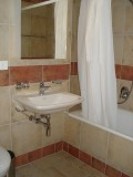 Bain + WC Chambre 1