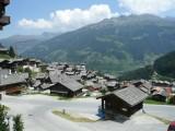 Vue sur vieux village