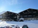 Immeuble en hiver