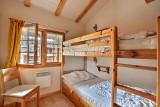 Chambre à 3 lits dont 1x lit superposé