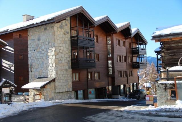 La résidence Armina - ext neige