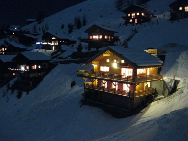 Chalet Le Yeti - ext neige nuit