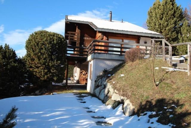 Chalet Zattelet - extérieur hiver